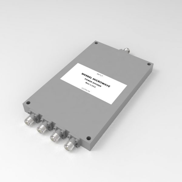 4-way SMA Power Divider from 2 GHz to 18 GHz