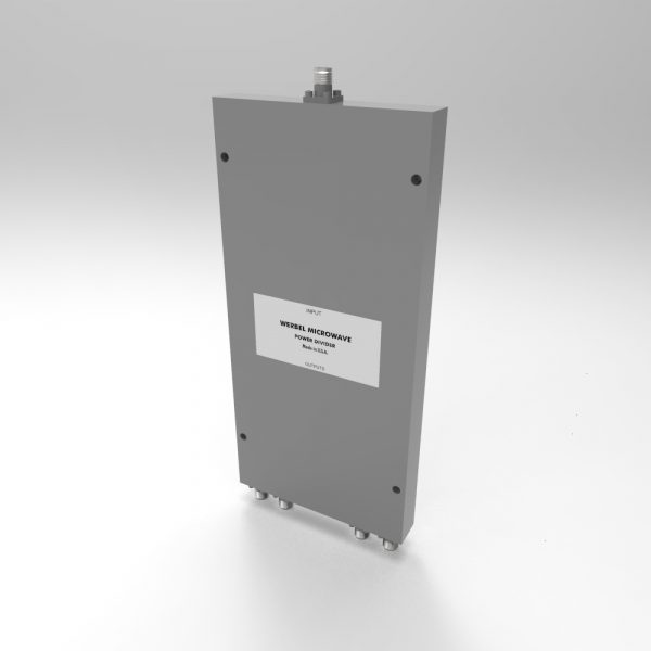 SMA 4-way Power Divider from 500MHz to 18 GHz