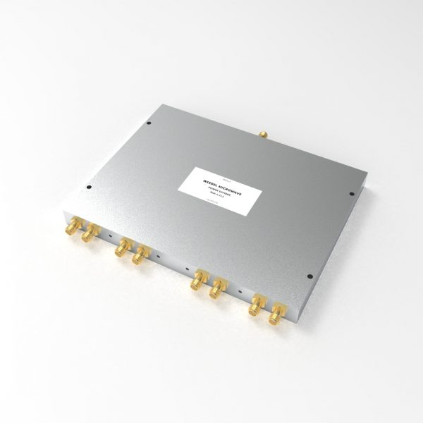 Power Divider 8-way SMA Female from 500 MHz to 6 GHz