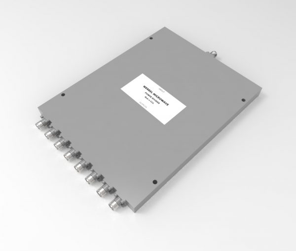 8-way SMA Power Divider from 2 GHz to 18 GHz