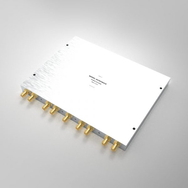 Power Divider 8-way SMA Female from 500 MHz to 6 GHz Single-Sided Connectors